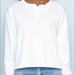 Brandy Melville long sleeve 3 button top